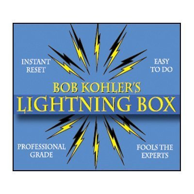 the-lightning-box-props-and-dvd-by-bob-kohler-dvd-by-unknown