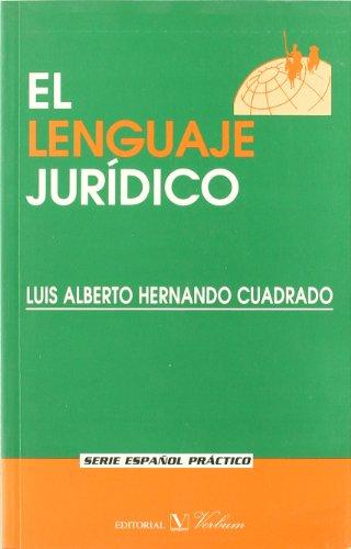 EL LENGUAJE JURIDICO