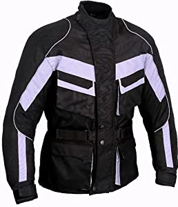 GXW-1409 Motorbike Waterproof Protection Jacket CE Armours All sizes (M)