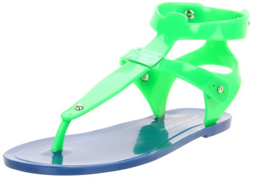 c9e59333fed3 Marc by Marc Jacobs Women's 625140/13 Flat,Green/Blue,40 EU/10 M US Amazon  Price: $140.00 Buy Now (price as of Jun 12, 2013)