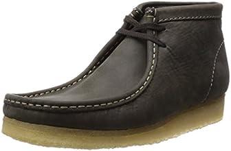 [クラークス] Clarks ワラビーブーツ 26109449 Dark Green Leather(ダークグリーンレザー/070)