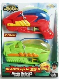 Water Warriors Kwik Grip XL Water Blasters - 2 Pack - 1