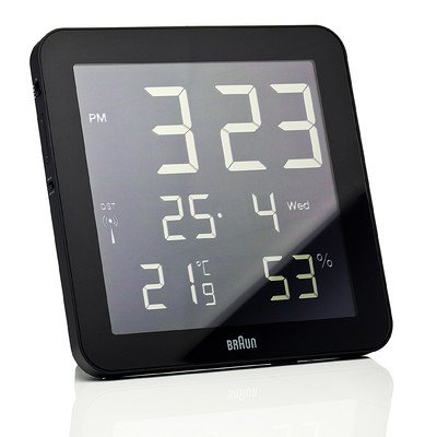 Digital Wall Clock Color: Black