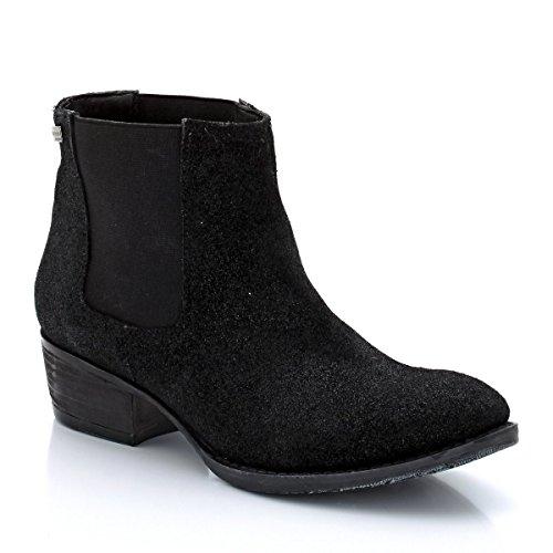 Les Tropeziennes Par M Belarbi Donna Boots Chelsea In Nabuk Iridescente, Da