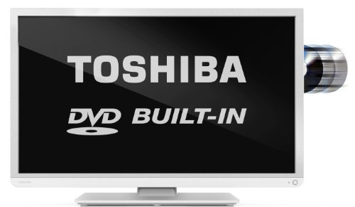 """Image of Toshiba 32D1334B - 32"""" HD Ready LED TV with Freeview and built-in DVD player (New for 2013)"""