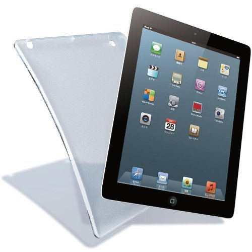 ELECOM iPad 2012年発売モデル ソフトケース クリア TB-A12UCCR