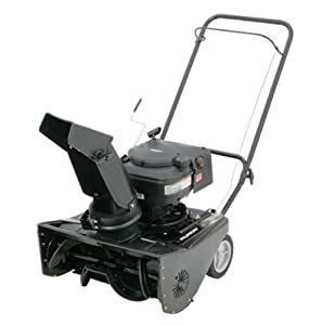 Murray 1695537 21-Inch 190cc 4-Cycle OHV Briggs & Stratton Snow Series Gas Powered Single Stage Snow Thrower (Discontinued by Manufacturer)