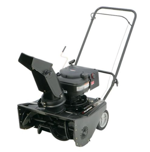 Murray 1695537 21-Inch 190cc 4-Cycle OHV Briggs & Stratton Snow Series Gas Powered Single Stage Snow Thrower