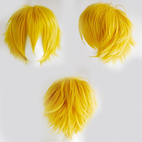 s-noilite-cosplay-curly-hair-tail-full-wigs-short-yellow-wig-women-men-wig