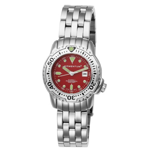 Momentum  Women's 1M-DV83R0 Storm II Red Scuba Dive Water-sports Watch