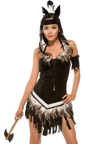 Forplay da donna, Sexy Tribal-costume da principessa nero XS/S