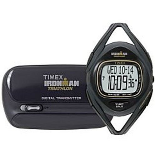 Image of Timex Ironman Triathlon Sleek Fitness Tracker - Black (T5K093Y7)