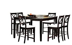 Amazon Counter High Table And 8 Chairs Table