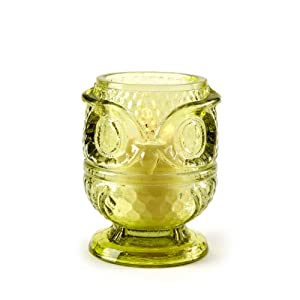 Two's Company Owl Tealight Holder