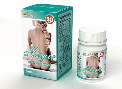 3 boxes Hergic slimming capsules diet revolution strong than Lida daidaihua