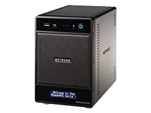 NETGEAR ReadyNAS Ultra 4 Plus (Diskless) Network Attached Storage (RNDP400U)