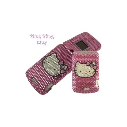 Baby Posh, LLC.   Hello Kitty Rhinestone Cell Phone case   made to your specifications