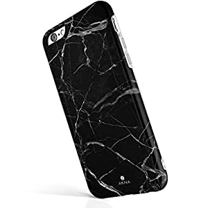 "iPhone 6 6s case marble, Akna New Glamour Series [All New Design] Flexible Soft TPU with Fabulous Glossy Pattern Case for iPhone 6 & iPhone 6s (4.7""iPhone) [Black Marble Texture](U.S)"