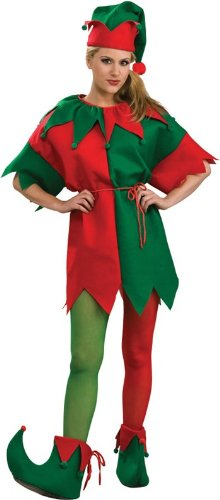 Elf Tights Womens Costume