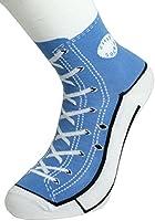 Sneaker Socken - Silly Sock - blau