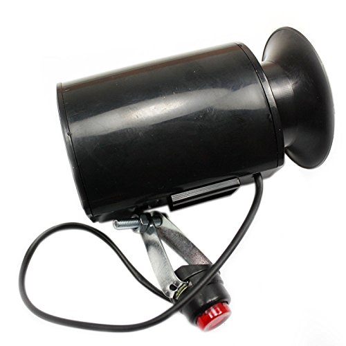 Bells & Mirrors & Locks - High Quality Loud Electronic Mtb Bell Bike Bicycle Cycling Horn Black
