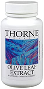 THORNE RESEARCH - Olive Leaf Extract - 60ct [Health and Beauty]