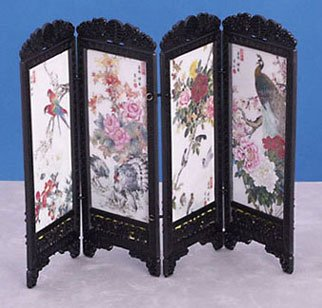 Dollhouse CHINESE SCREEN, BIRDS