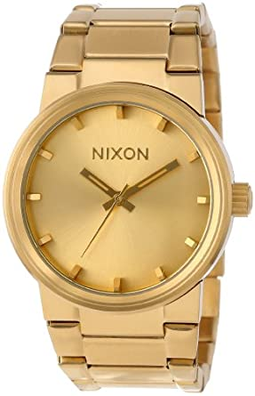 nixon the cannon s all gold nixon