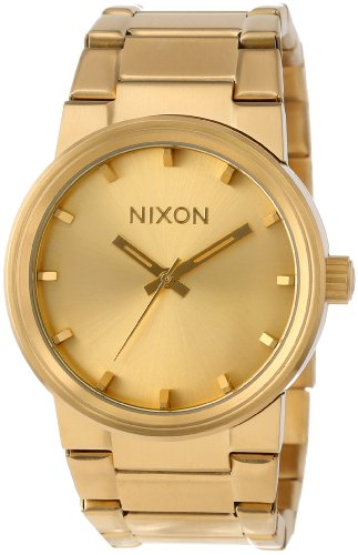 Nixon Cannon Watch - Men's All Gold, One Size