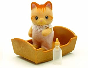 Sylvanian Families Ginger Cat Baby