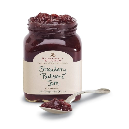 [Stonewall Kitchen Jam, Strawberry Balsamic, 12 Ounce] (Easy Homemade Adults Halloween Costumes)