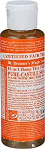 Dr. Bronner Tea Tree Pure-Castile Soap - 4 Fluid Ounces