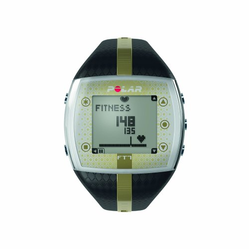 Polar Ft7f Heart Rate Monitor And Sports Watch - Black/Gold