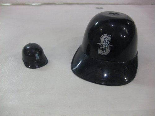 Set Of Two Laich Seattle Mariners Mini Basball Batting Helmets at Amazon.com