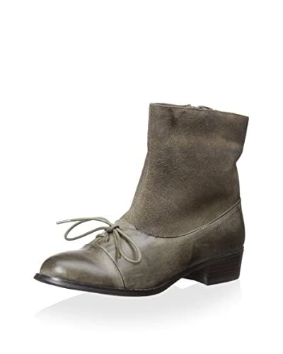 Antelope Women's Bootie with Bow, Grey, 40 M EU/9-9.5 M US