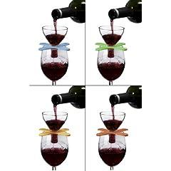 Metrokane Houdini Wine Shower On Glass Red Wine Aerator by Metrokane