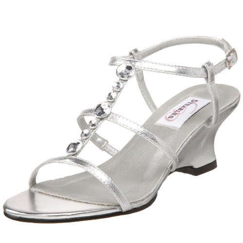 SILVER WEDGE WEDDING SHOES WEDDING SHOES