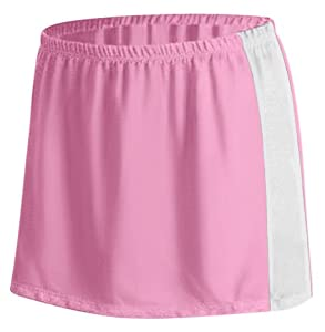 Game Gear Girl s Paneled PT Lacrosse Kilts PINK/WHITE YM