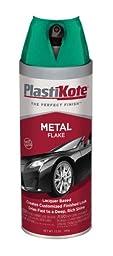 PlastiKote (312-6PK) Green Metal Flake - 12 oz., (Pack of 6)