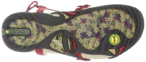 Jambu Women's Violetta Flip Flop,Red,10 M US