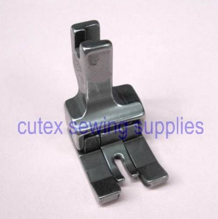 CUTEX SEWING Double Compensating Top-Stitching Presser Foot