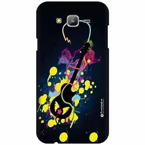 Printland Designer Back Cover for Samsung Galaxy J7 - Guitar Case Cover