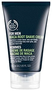 The Body Shop For Men Maca Root Shave Cream Small, 3.95-Fluid Ounce from The Body Shop