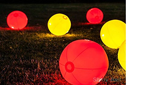 how to make glow in the dark beach balls