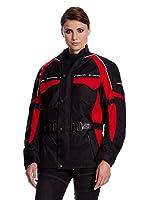 Roleff Racewear Chaqueta Moto (Negro / Rojo)