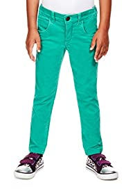 Cotton Rich Adjustable Waist Corduroy Trousers [T77-6182D-Z]