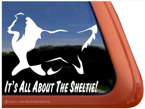 lg Shetland Sheepdog Vinyl Decal,Sheltie