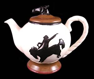 Teapot, Tea Pot Cowboy Western Decor
