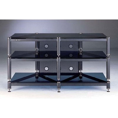 "BLG 44"" TV Stand Finish: Black"