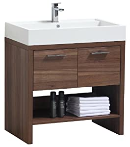 Luxo Marbre RELAX V31 W Relax Vanity with Synthetic Marble